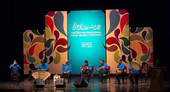منتخبان سی امین جشنواره موسیقی فجر